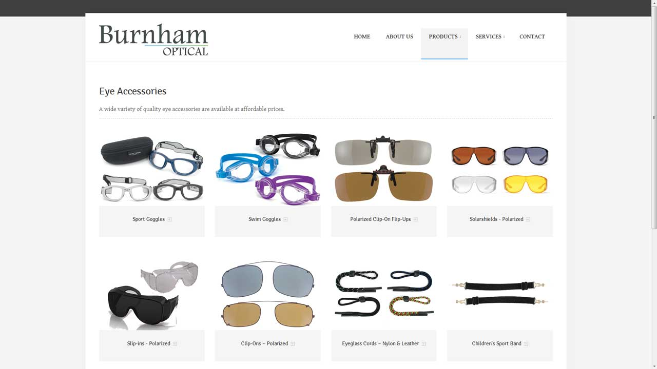 Burnham Optical Products Page