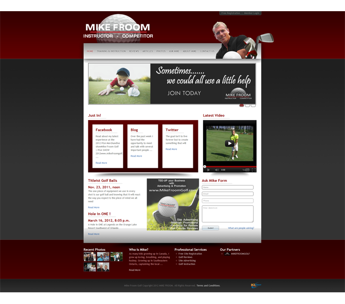 Mike Froom Golf